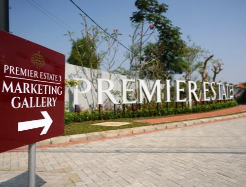 petunjuk arah masuk premier estate 3