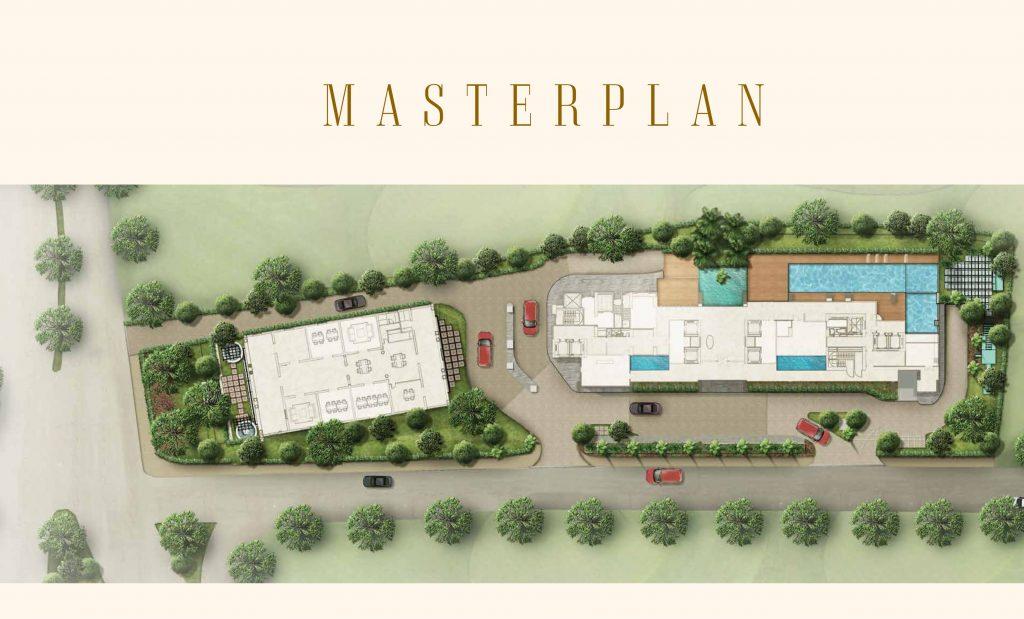 master plan defontein apartment at menteng