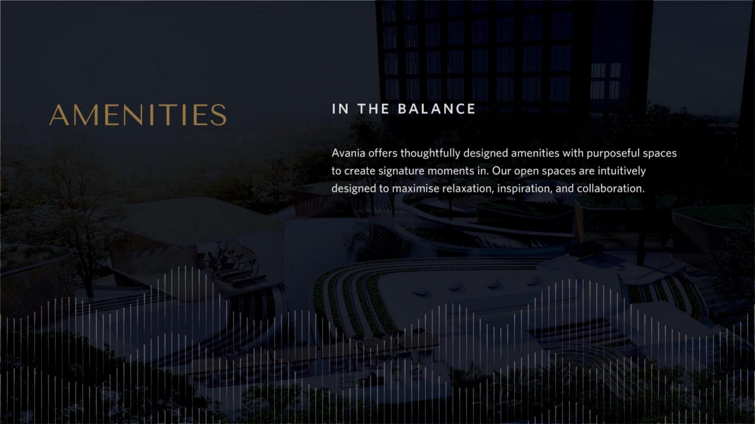 Apartemen Avania Residence Gatot Subroto amenities