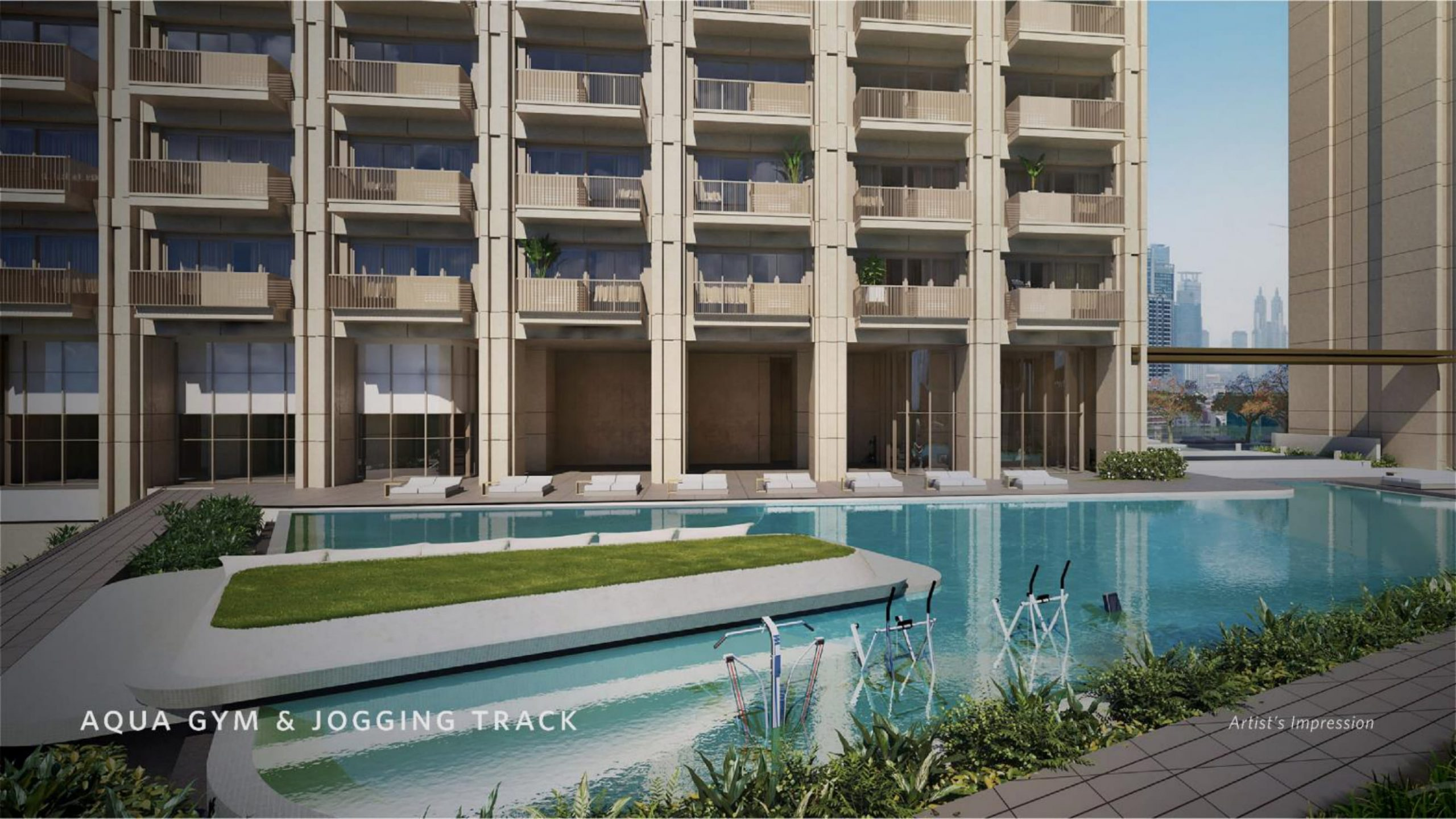 Apartemen Avania Residence Gatot Subroto aqua pool