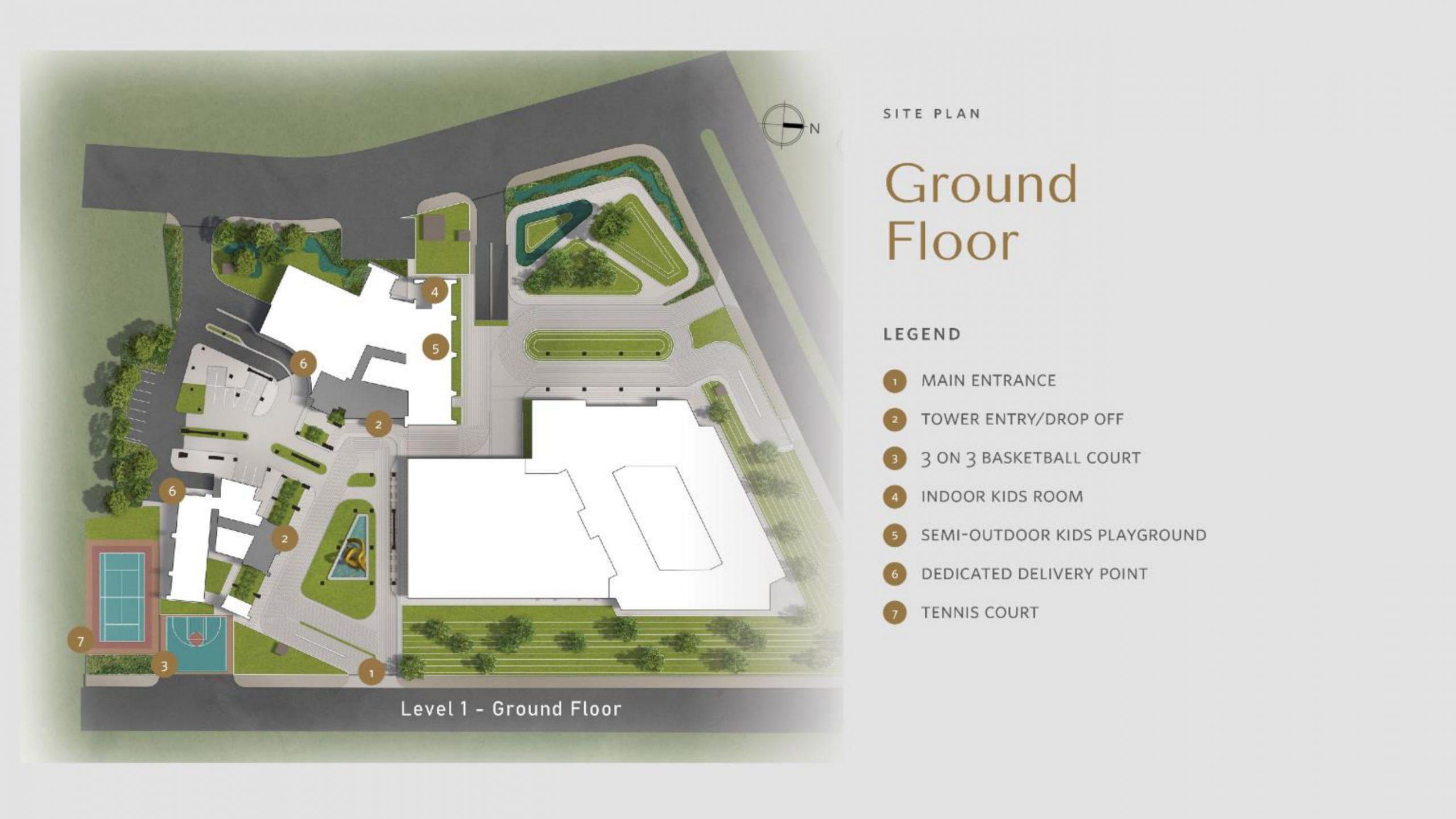 Apartemen Avania Residence Gatot Subroto lantai ground floor