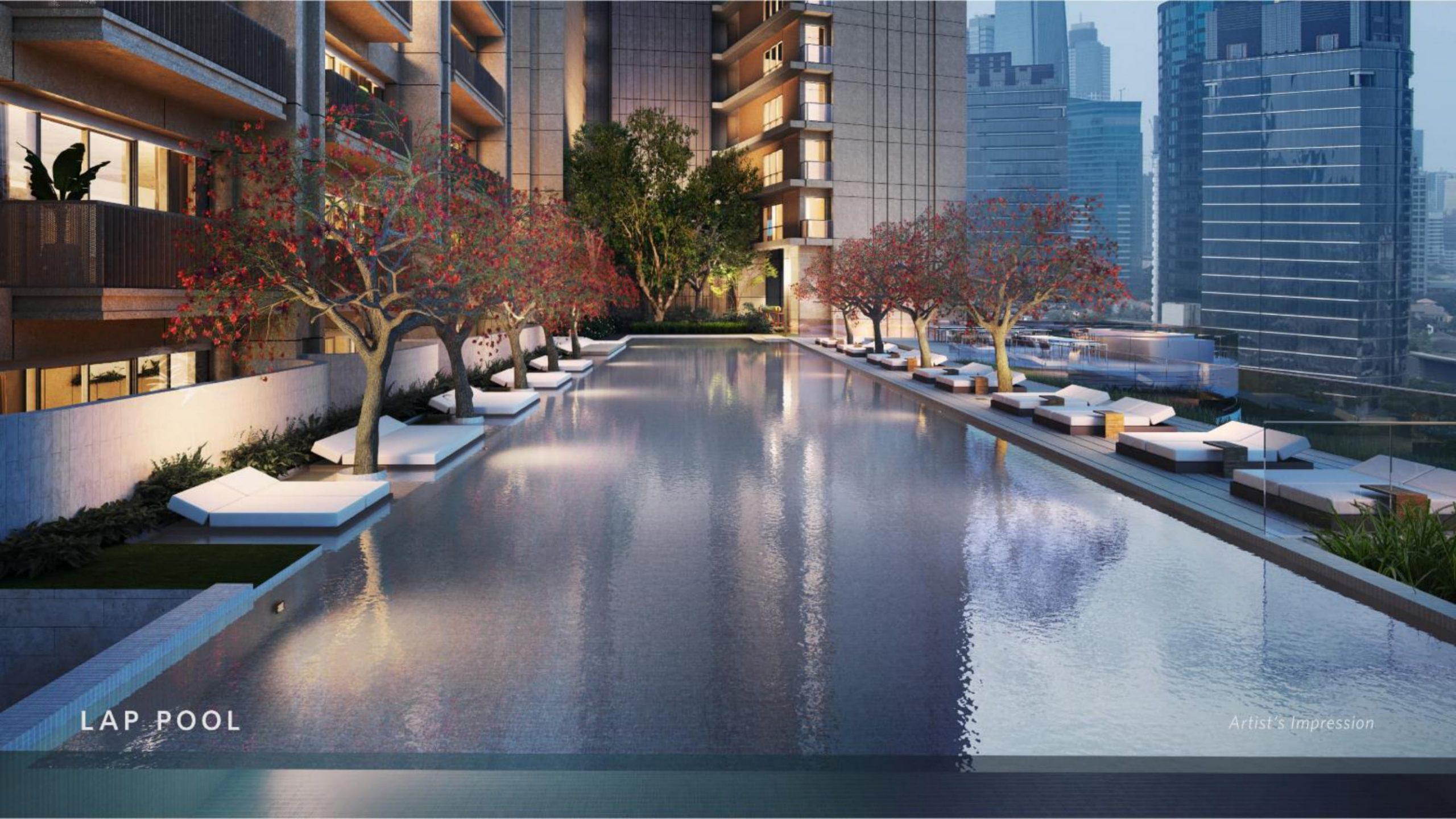 Apartemen Avania Residence Gatot Subroto swimming poll