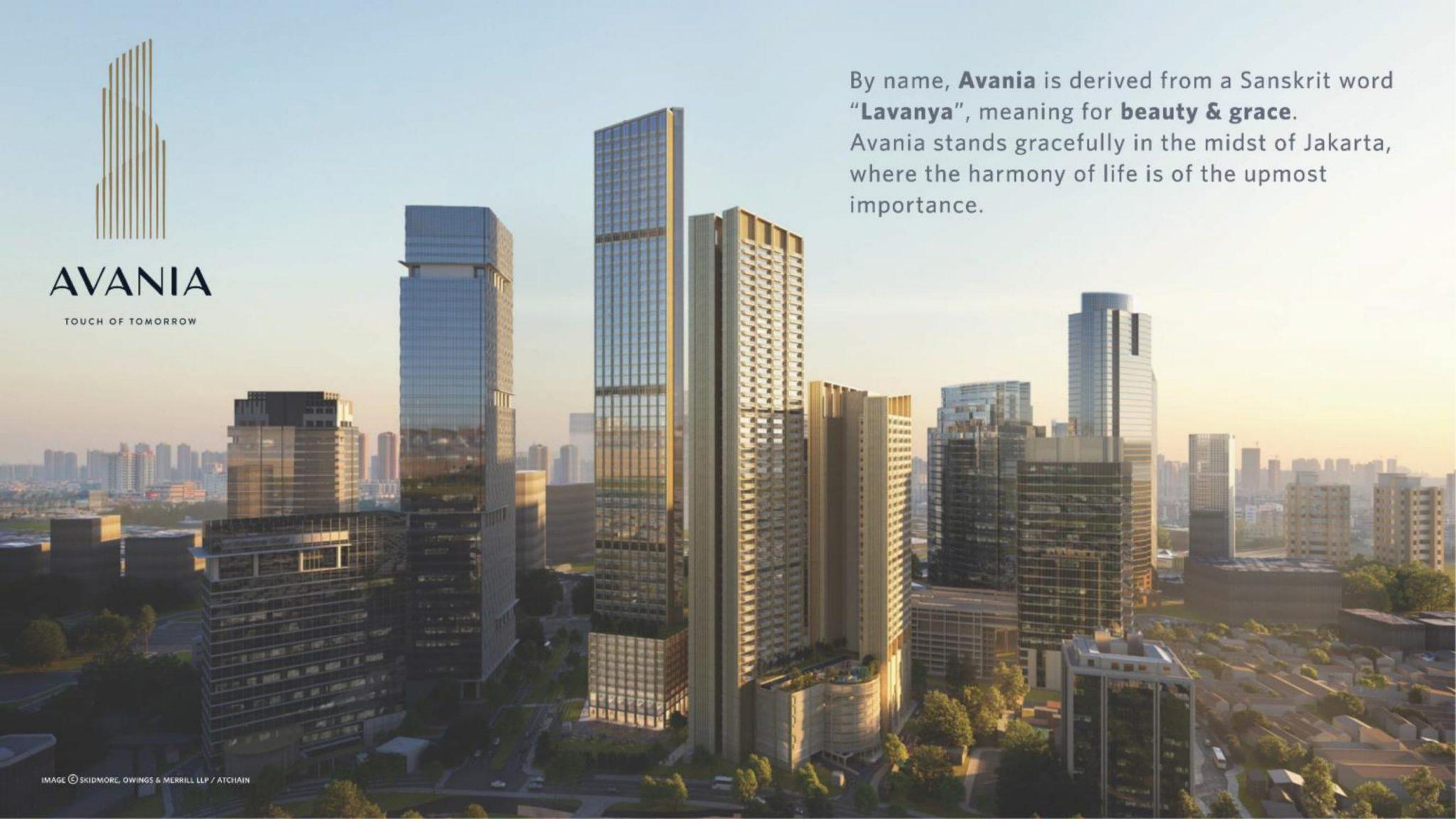 Apartemen Avania Residence asal usul nama