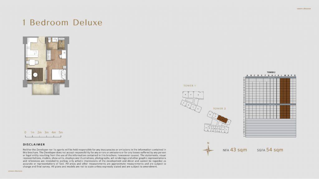 Apartemen Avania Residence unit tipe 1 Bedroom Deluxe