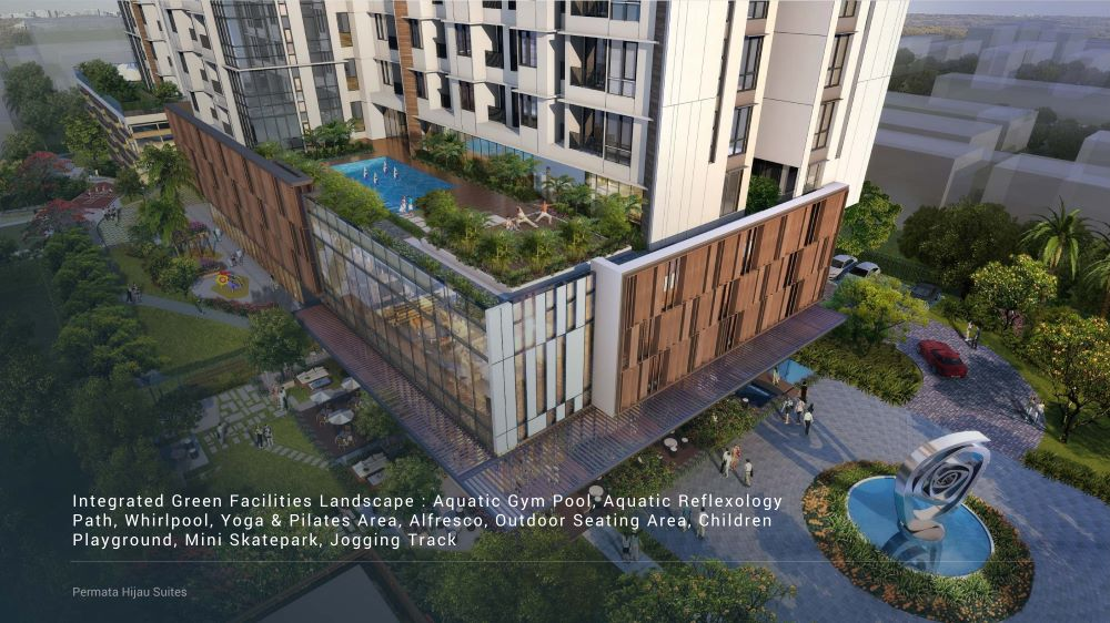 Permata Hijau Suites fasilitas 1k