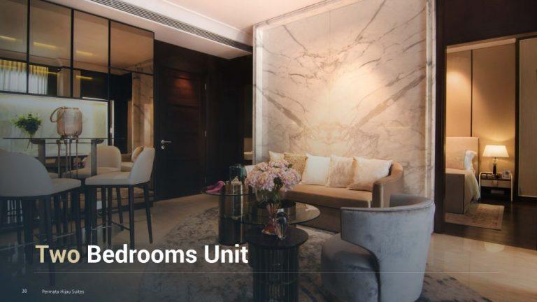 Permata Hijau Suites floor plan + tipe unit 2