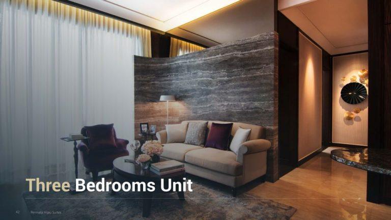 Permata Hijau Suites floor plan + tipe unit 3