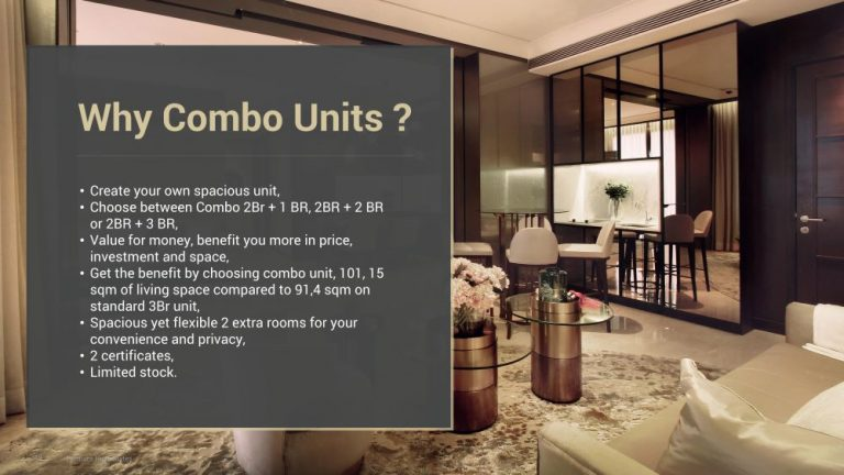 Permata Hijau Suites why combo unit