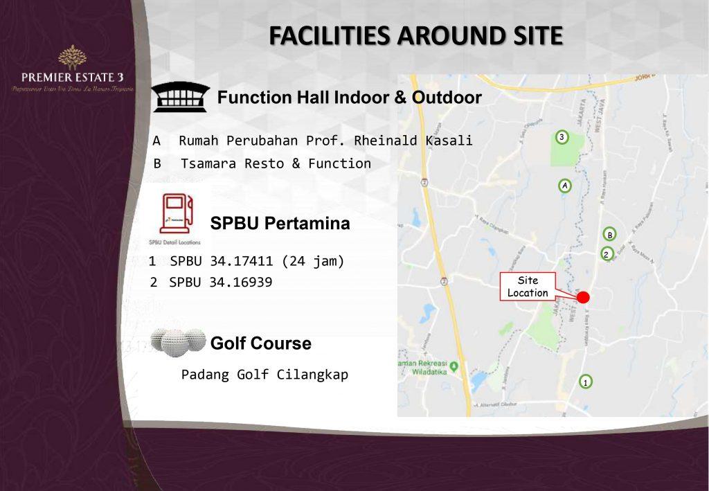 Dekat dengan kantor instansi pemerintahan dan fasilitas sarana prasarana transportasi umum di Premier Estate 3