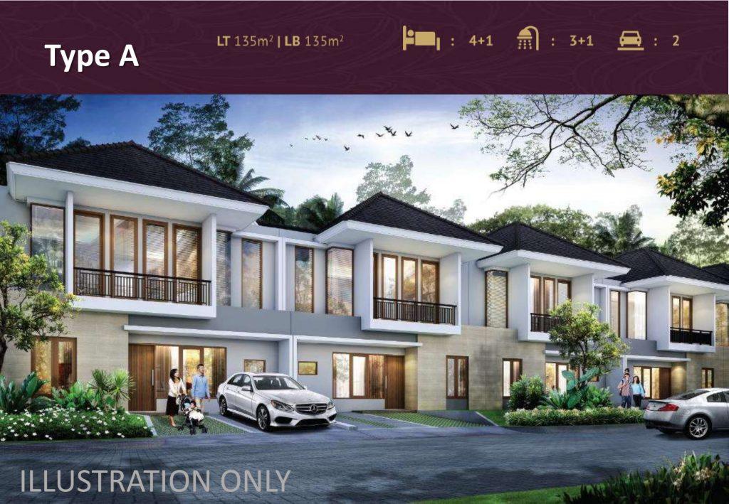 Tipe Antibes Premier Estate 3 Kranggan Cibubur
