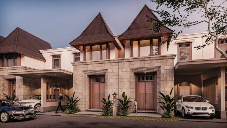 amanila residence rumah dijual 2 lantai dekat akses tol depok
