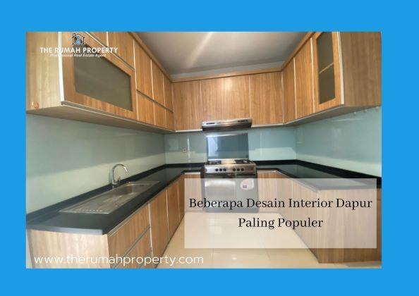 beberapa desain interior dapur paling populer
